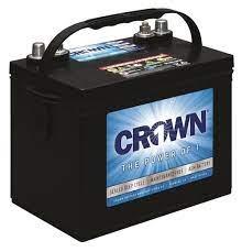 12CRV80 – Grp24 80AH 500CCA AGM by Crown