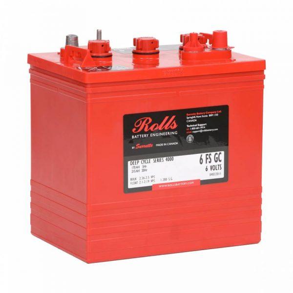 6-FS-215 – 6V 215Ah GC2 Powerpak HD (Black Box) by Rolls